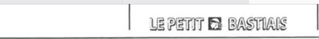 Lentu dans le Petit Bastiais…